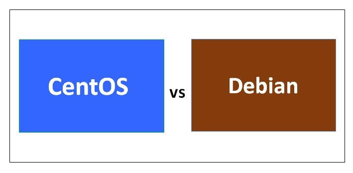 CentOs vs Debian
