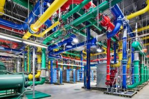 Colored Tubes of Google