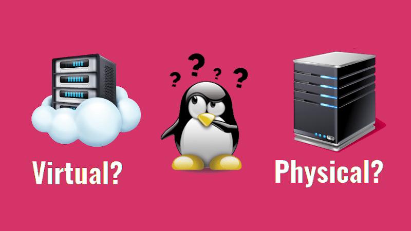 Physical Server vs. Virtual Machines