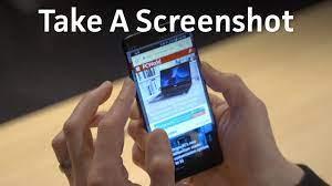 Take Screenshots