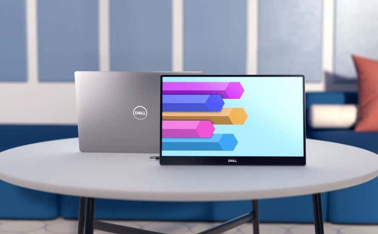 Dell Unveils Its First 14-Inch Portable Monitor