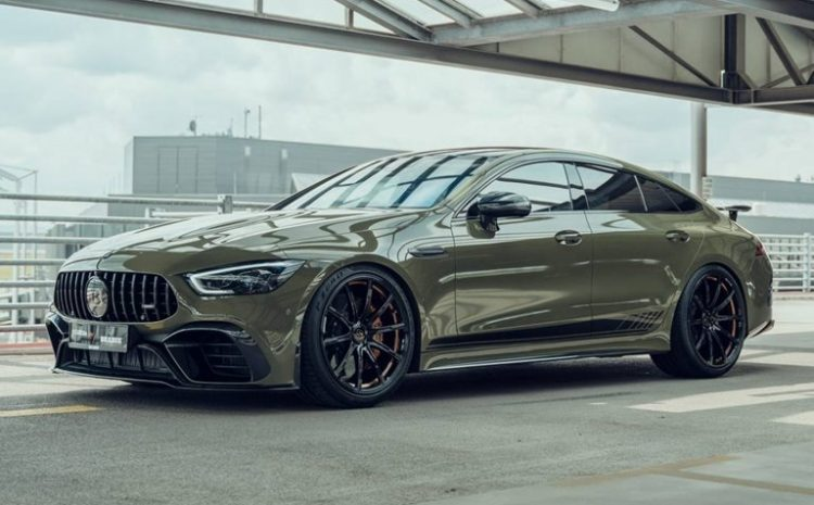 Mercedes AMG GT 63 S Brabus With 800 HP Was Introduced