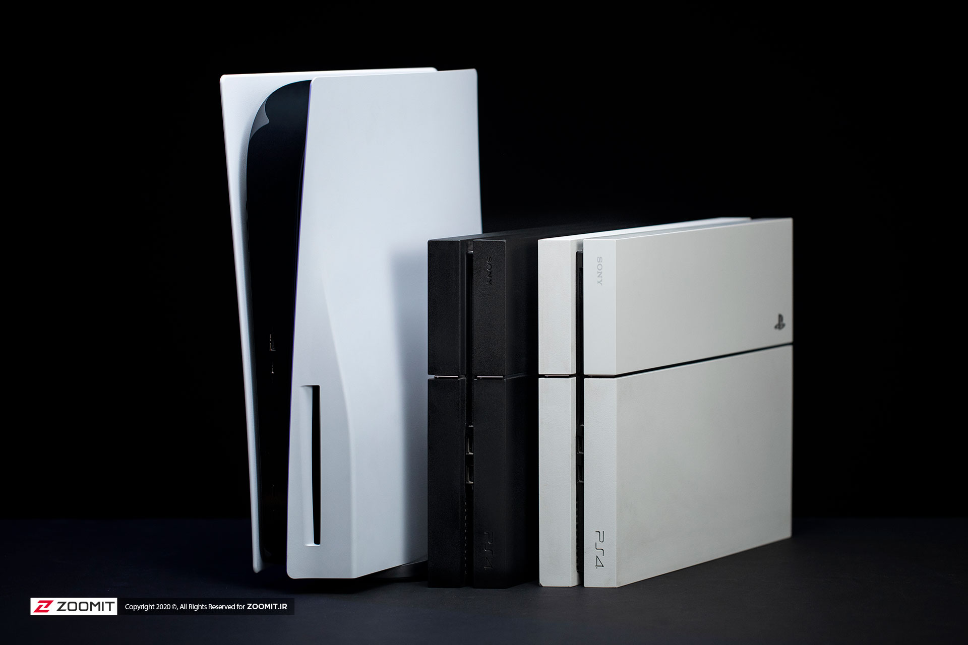 Compare PS5 with PS4