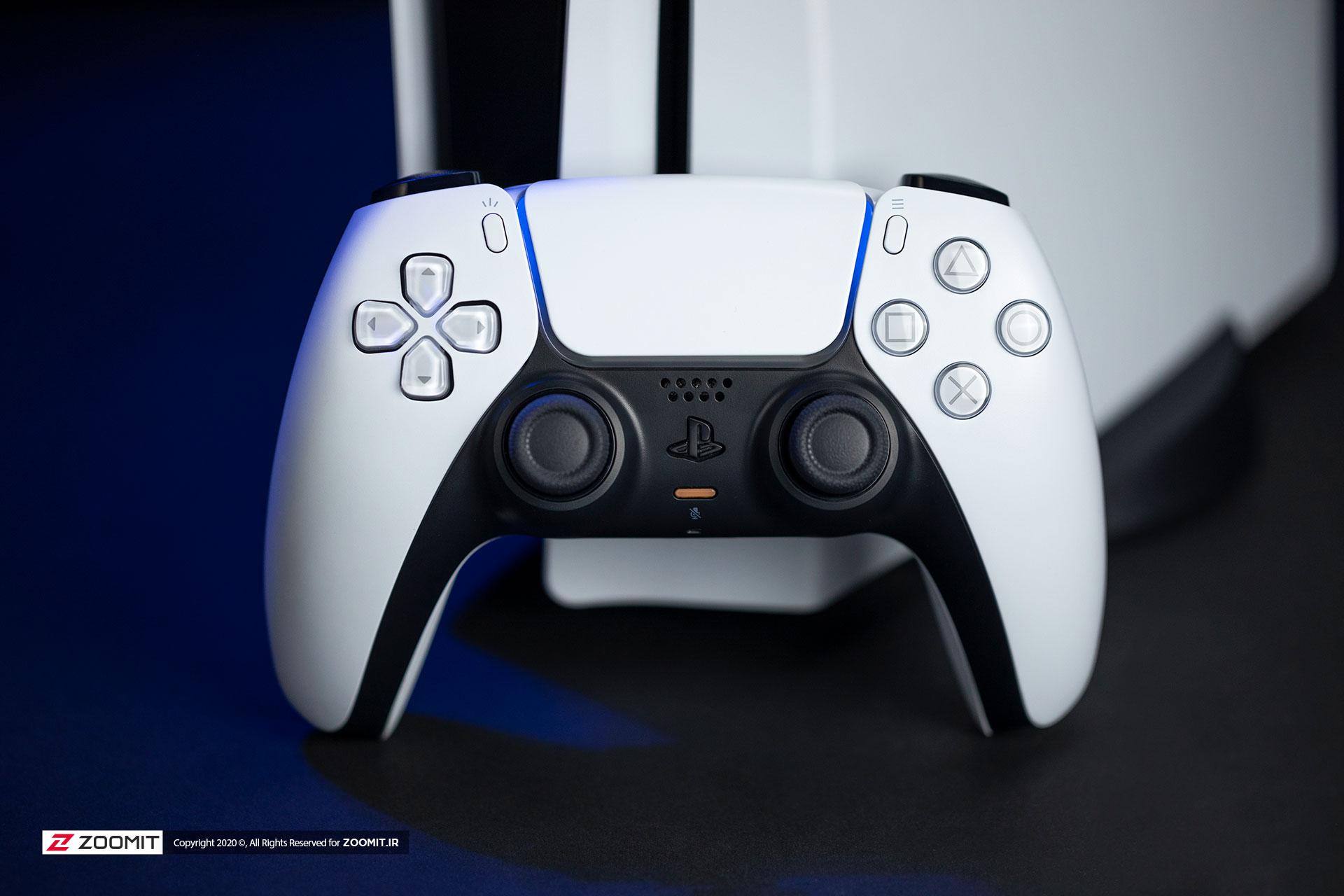 Dual Sensen PlayStation 5 PS5 handle design
