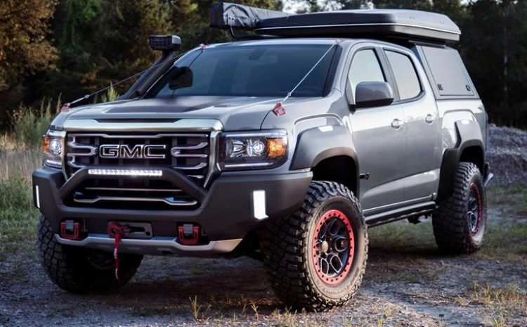The Special Edition Of GMC Canyon Was Introduced With Off-Road Equipment And Facilities For Living In Nature