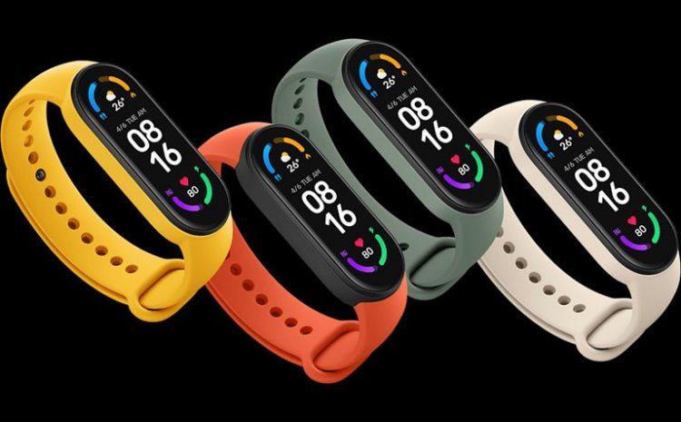 Xiaomi's Mi 6 Smart band Health Bracelet Entered The Global Market
