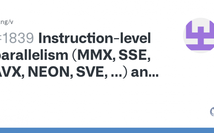 What Are MMX, SSE And AVX?