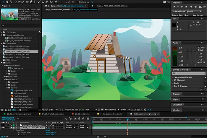 Adobe After Effects software
