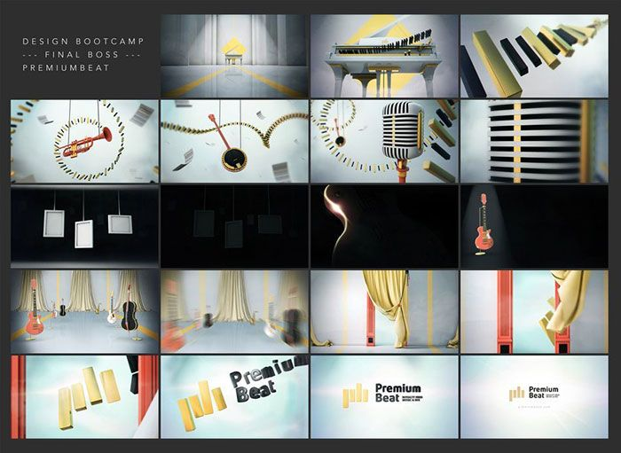 Create narrative with motion graphics