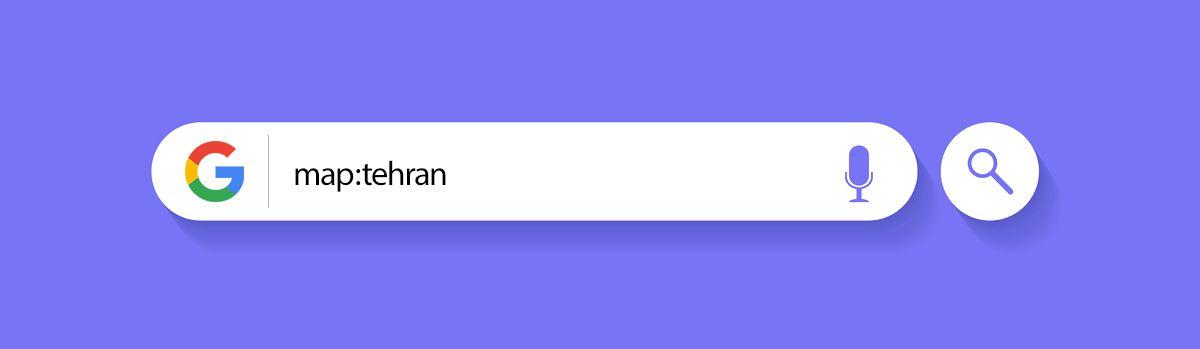 Google Search Tricks - map: