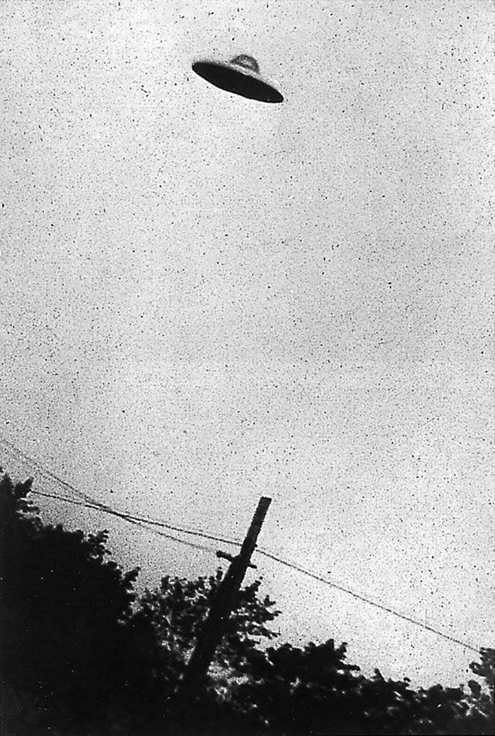 Photo attributed to UFO