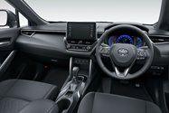 TOYOTA corolla cross Interior view of Toyota Corolla Cross Hybrid